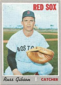 1970 Topps Russ Gibson